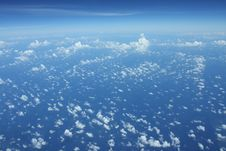 Free Clouds Over Sea Royalty Free Stock Photos - 5893978