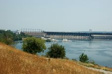Free View Of Old Hydroelectric Power Station Stock Photography - 5894022