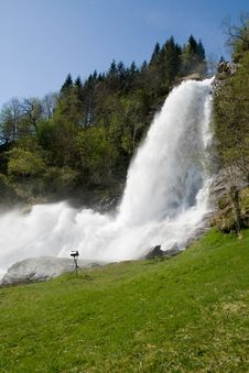 Free Steinsdalsfossen,Kvam - Norway Royalty Free Stock Photography - 5894027