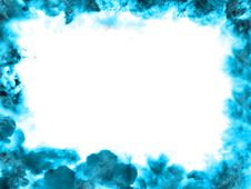 Free Blue Clouds Frame Royalty Free Stock Photo - 5894505