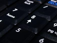 Free Black Laptop Numberpad Keyboard Stock Images - 5895124