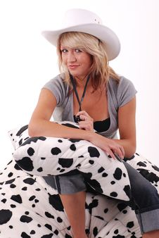 Free Cowgirl Stock Photo - 5895480