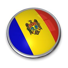 Free Banner Button Moldova Stock Photos - 5896653