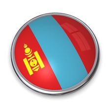 Free Banner Button Mongolia Royalty Free Stock Photography - 5896657