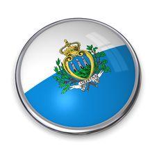 Free Banner Button San Marino Royalty Free Stock Photo - 5896705