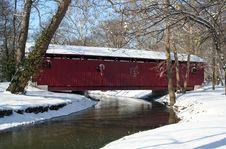 Free Winter Bridge 58 Royalty Free Stock Photos - 5897628