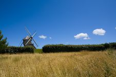 Free Windmill Royalty Free Stock Photography - 5897767