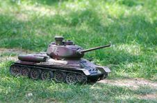 Toy Tank Stock Image