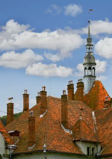 Free Medieval Castle Roof Stock Images - 5898584