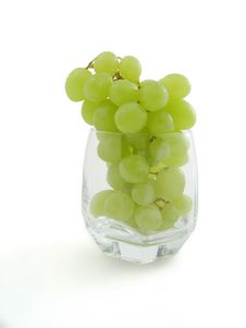 Free Juicy Cluster Grapes In Grass Stock Photos - 5898693
