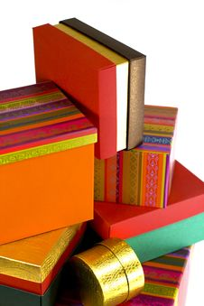 Free Gift Boxes Stock Photography - 5898722