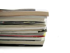 Free Pile Magazines Royalty Free Stock Images - 5898809
