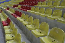 Free Stadium Chairs Royalty Free Stock Image - 5899296