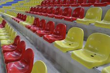 Free Stadium Chairs Royalty Free Stock Photo - 5899315