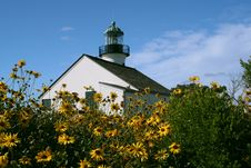 Free Point Loma Light In Spring Stock Photography - 5899352
