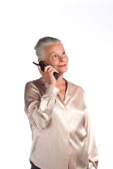 Free Senior Female Executive Royalty Free Stock Image - 5899876