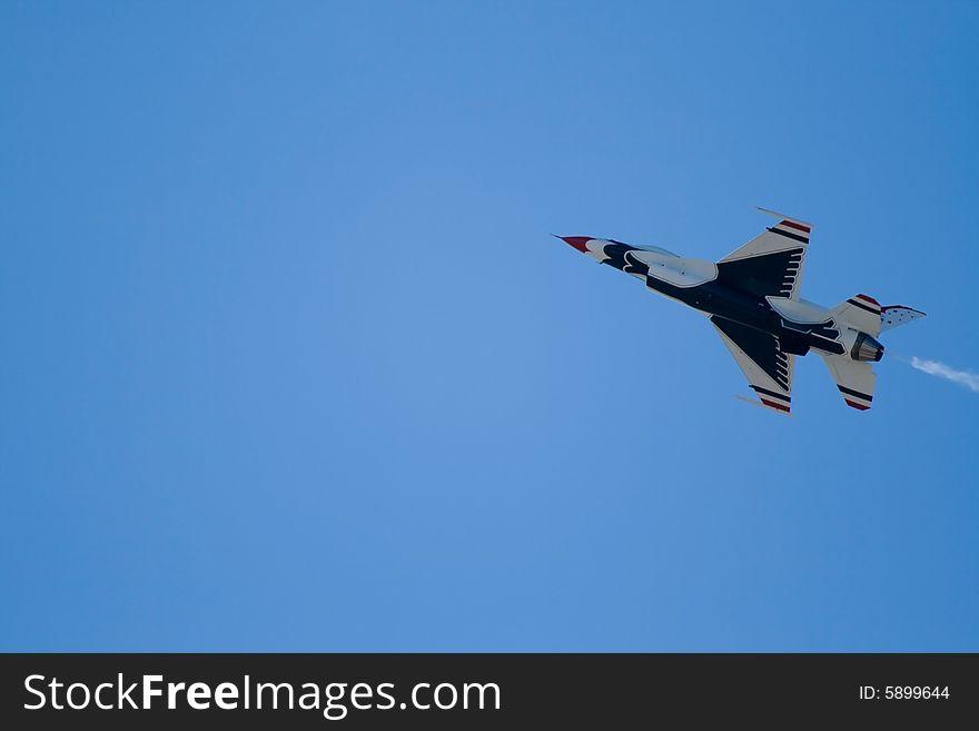 Thunderbird in flight
