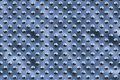 Free Metal Round Dots - Blue Sky Royalty Free Stock Photos - 590168