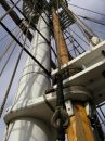 Free Wooden Mast & Rigging Stock Image - 593571