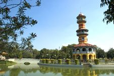 Free Bang-Pa In Palace Stock Images - 590434