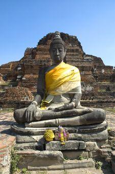 Free Buddha At Wat Maha That Royalty Free Stock Image - 590436
