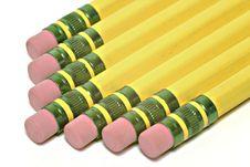 Free Pencils Isolated On White Stock Photos - 590593