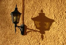 Free Lantern And Its Shadow Royalty Free Stock Image - 591036