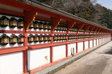 Free Aligment At Narita Temple Stock Photo - 591180