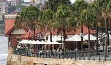 Free Bar Terrace On Sydney Harbour Stock Photography - 591182
