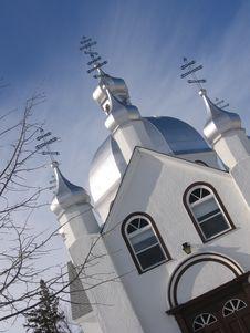 Free Ukrainian Church Stock Image - 591361