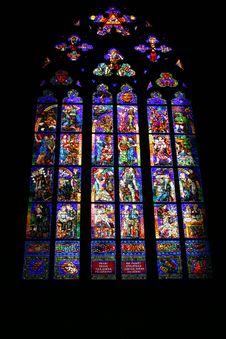 Decorated Church Window Stock Photos