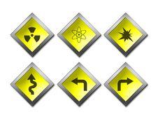 Free Sign Warning Symbol Stock Image - 591891
