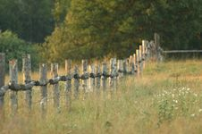 Free Country Fence Stock Images - 592324