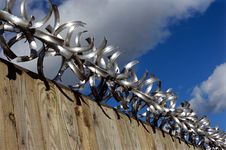 Free Razor Wire. Stock Photo - 592640