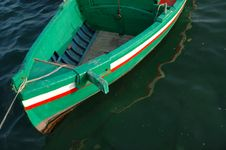 A Coloured Fishing Boat Royalty Free Stock Photo
