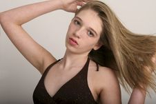 Free Brown-haired Teen Stock Images - 594234