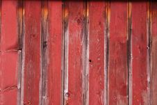 Free Red Wall Royalty Free Stock Photography - 594447