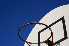 Free Basketball Hoop Royalty Free Stock Photography - 594857