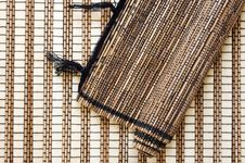 Free Bamboo Mats Royalty Free Stock Images - 595359
