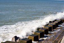 Free Sea Defences Stock Image - 596011