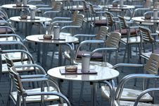 Free Empty Cafe Royalty Free Stock Photo - 596385