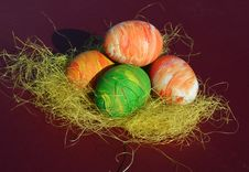 Free Easter Eggs Royalty Free Stock Photos - 596478