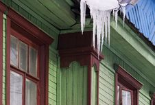 Free Thawing Icicle Royalty Free Stock Photos - 596768