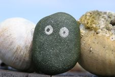 Free Rocks Like Human Faces Stock Images - 597274