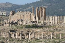 Free Jerash Royalty Free Stock Photos - 597718