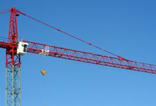 Free Red Crane Horizontal Stock Photo - 597730