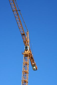 Yelllow Crane Stock Photos