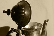 Old Teapot Stock Photos