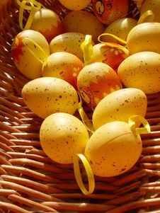 Free Easter Eggs Royalty Free Stock Photos - 598778
