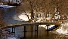 Free Walk In The Park - Bridge Stock Photos - 599943